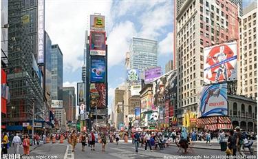 自然堂,韩后等品牌去纽约时报广场登广告,究竟图啥?是炒作?