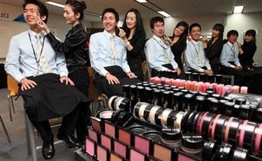 外貌竞争力成韩国社会共识 韩男性更爱打扮自己