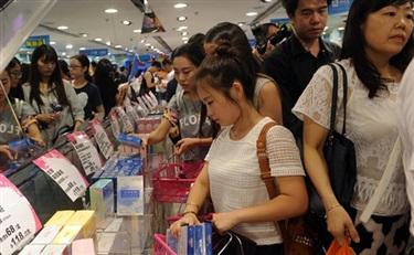 韩国化妆品受中国人青睐 去年卖出11亿美元