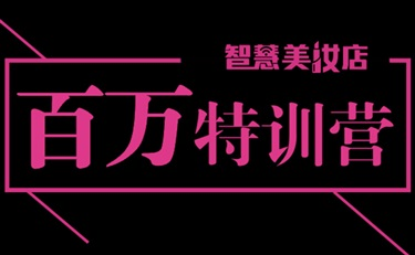 百万特训营:智慧美妆店粉丝线下聚会,互联网+实操培训