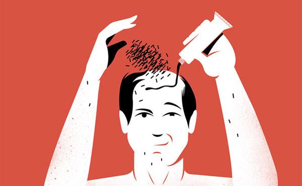 欧美男士发型趋势:最受欢迎的是丸子头和油头