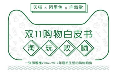 阿里联合自然堂发布双十一购物白皮书