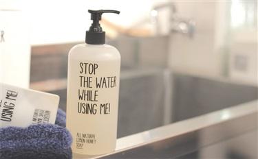 #酷品牌 你刷牙的时候 水龙头有没有关?有个化妆品想管你这事