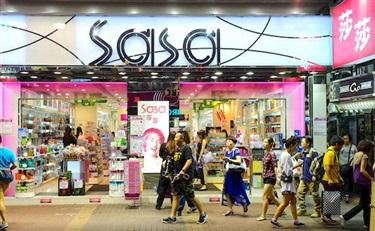 受益于内地游客增加 春节莎莎港澳销售上涨16%