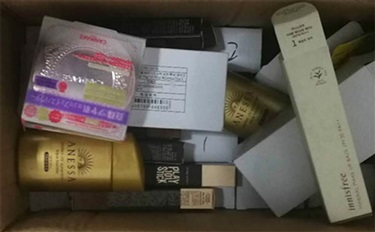深圳一销售假资生堂化妆品团伙落网 爽肤水就用水做