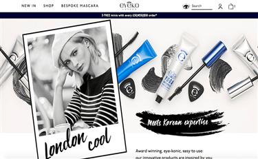 英国美容产品电商 The Hut Group 收购眼部彩妆品牌 Eyeko