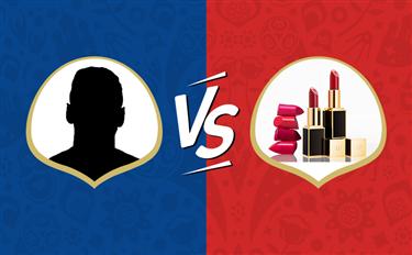 世界杯各队球星都已悉数登场,是时候跟美妆届来场battle战了