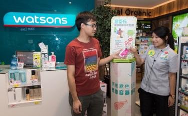 屈臣氏今年底前全面停售含塑胶微粒的个人护理产品等