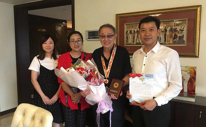 快讯||葛文耀获中央认可,表扬其突出社会贡献