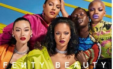 蕾哈娜美妆品牌Fenty Beauty入驻天猫国际