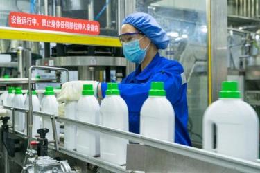自然堂、强生抢食消毒用品市场 竞争中谋突围