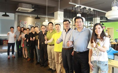 葛文耀与20位品牌创始人相约聚美丽总部,原来干了这些事