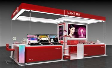 2018年韩束品牌百货渠道1000个专柜9.6亿销售目标,怎么做?