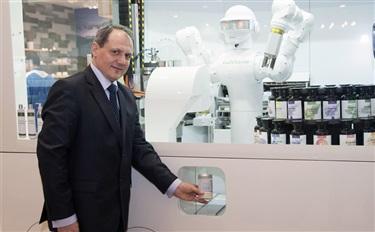 昨天 我收到一瓶机器人为我私人定制的化妆品