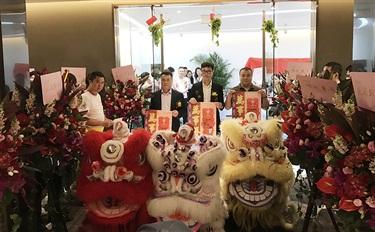 温碧泉乔迁广州顶级写字楼IMP 开启全新征程