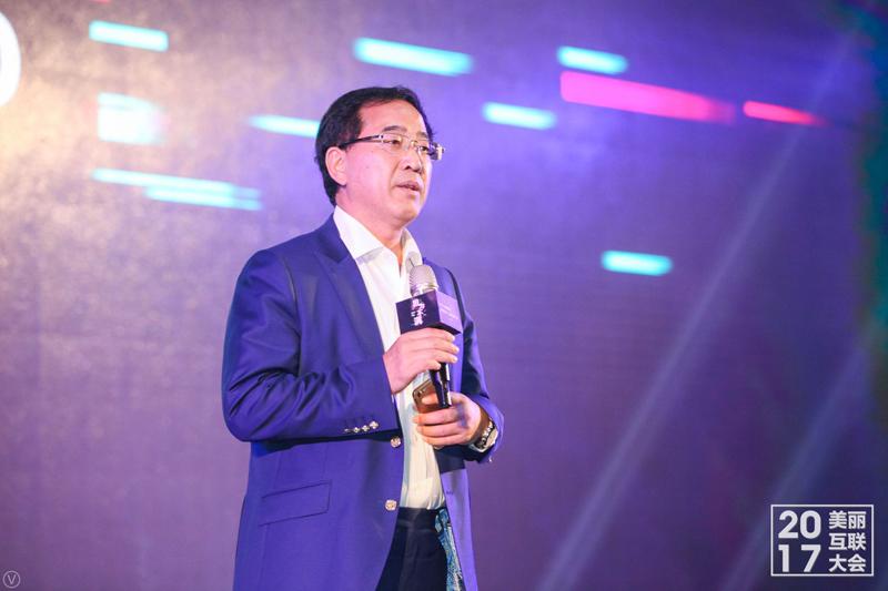 中国美容博览会主席桑敬民致辞