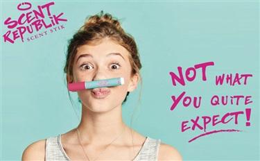 """英国品牌Scent Republik为小女孩们推出可以画画的""""香水笔"""""""