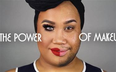 化妆手法逆天,这些男性博主助推了整个市场