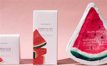 韩妆概念+美国品牌,Glow Recipe告诉你西瓜可以吃也可以敷