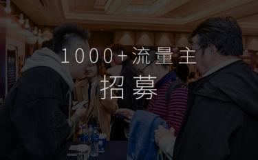 1000+美妆品牌双十一大战·流量主全网招募令